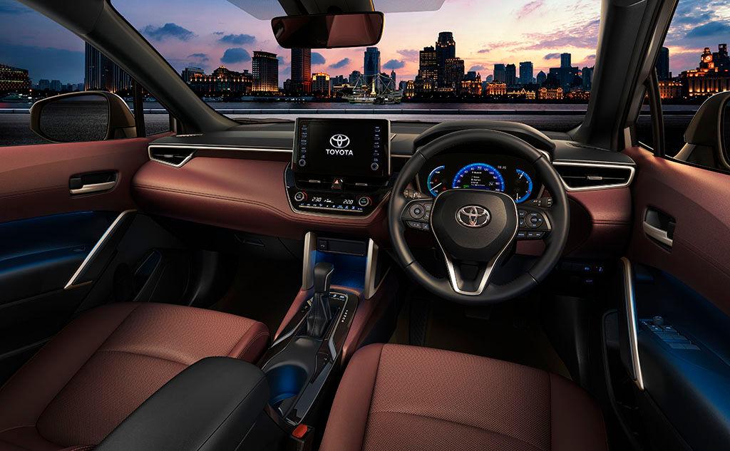 Corolla Cross tem porte de Jeep Compass