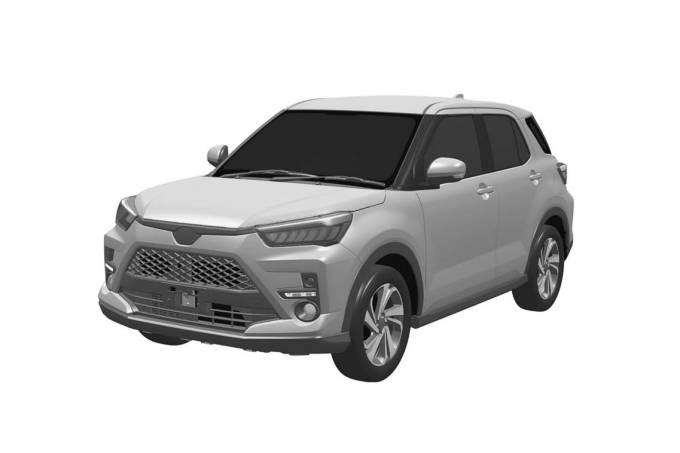 Toyota-Raize-patente