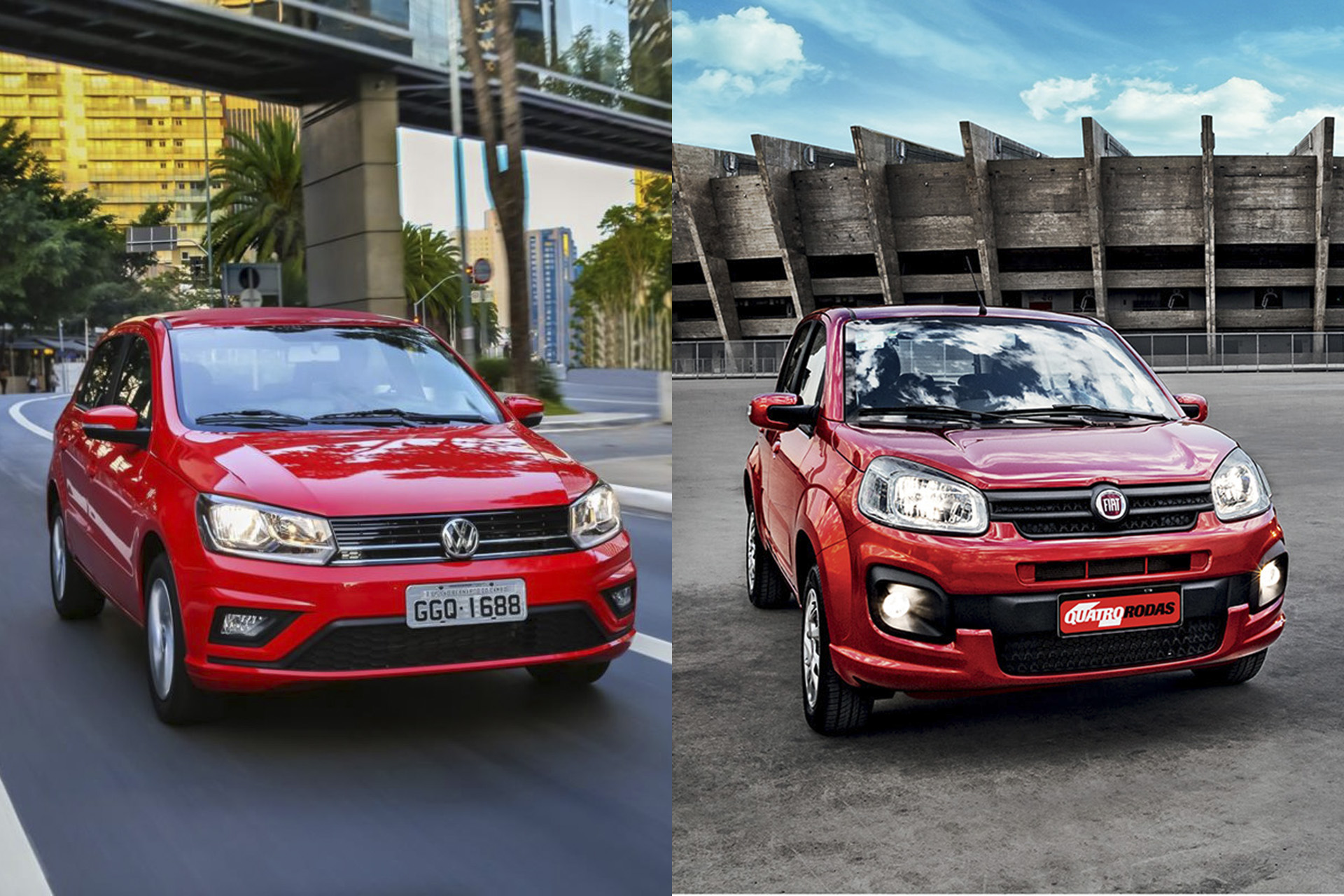 VW Gol e Fiat Uno: coronavírus ameaça os 2 carros mais populares do Brasil