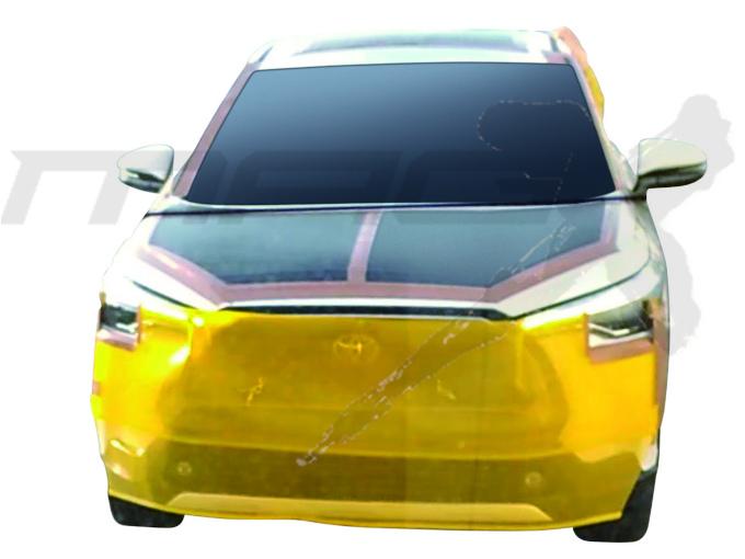 """Dianteira revela inspiração em diferentes modelos da Toyota<span class=""""hidden"""">-</span>"""