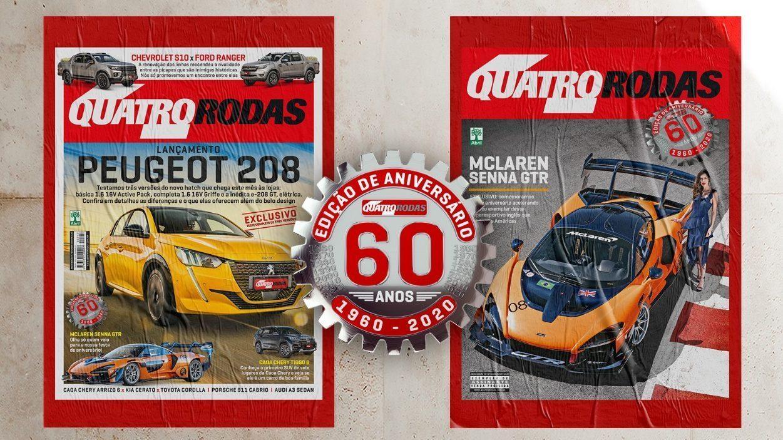 Capa da Revista quatro rodas