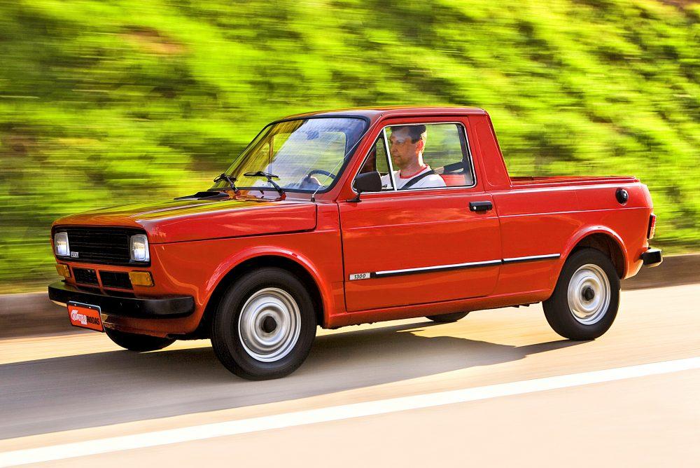 147 Pick-Up, modelo 1980 da Fiat, do mecânico paulista Marco Antônio Parma, testado pela revista Quatro Rodas.