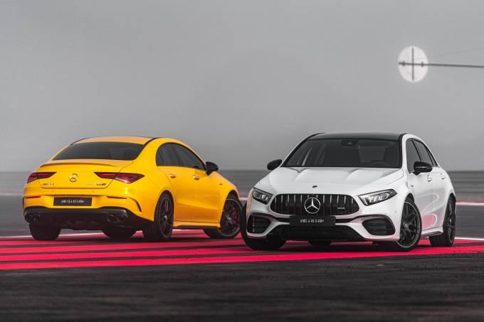 Mercedes-AMG A 45 e CLA 45
