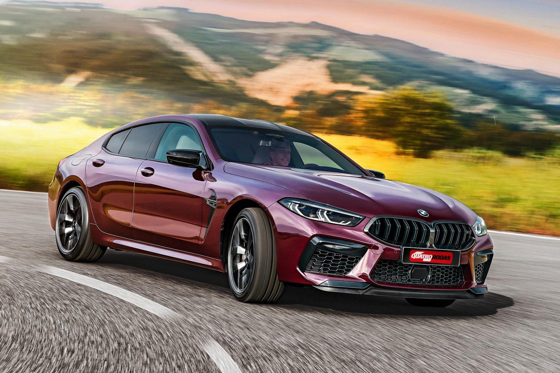 Impressões: BMW M8 Gran Coupé é a forma mais confortável de andar rápido
