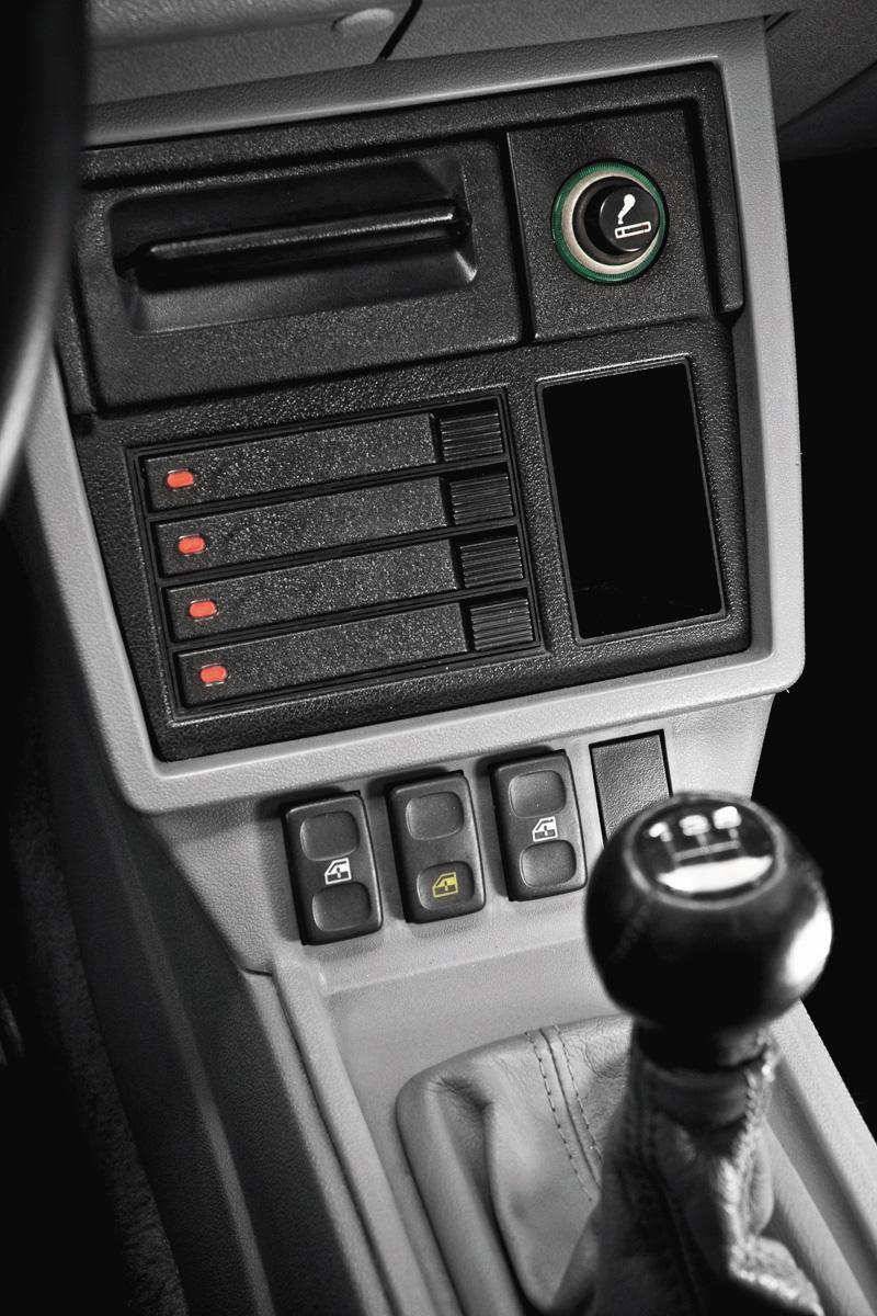 Câmbio do Santana Ex, modelo 1990 da Volkswagen, do administrador de empresas Werner Fleck.