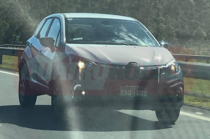 Flagra Renault Captur 2021