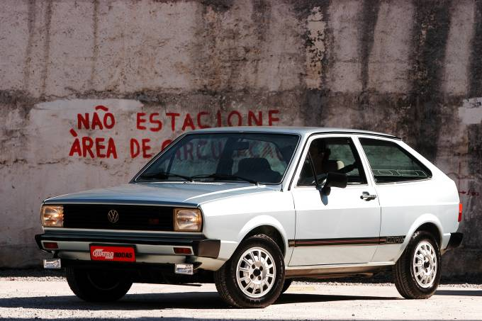 Gol Copa 1600, modelo 1982, série especial da Volkswagen, em homenagem à Copa do_1