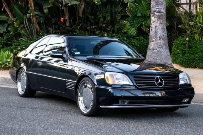 Mercedes-Benz S600 Coupé Lorinser de Michael Jordan
