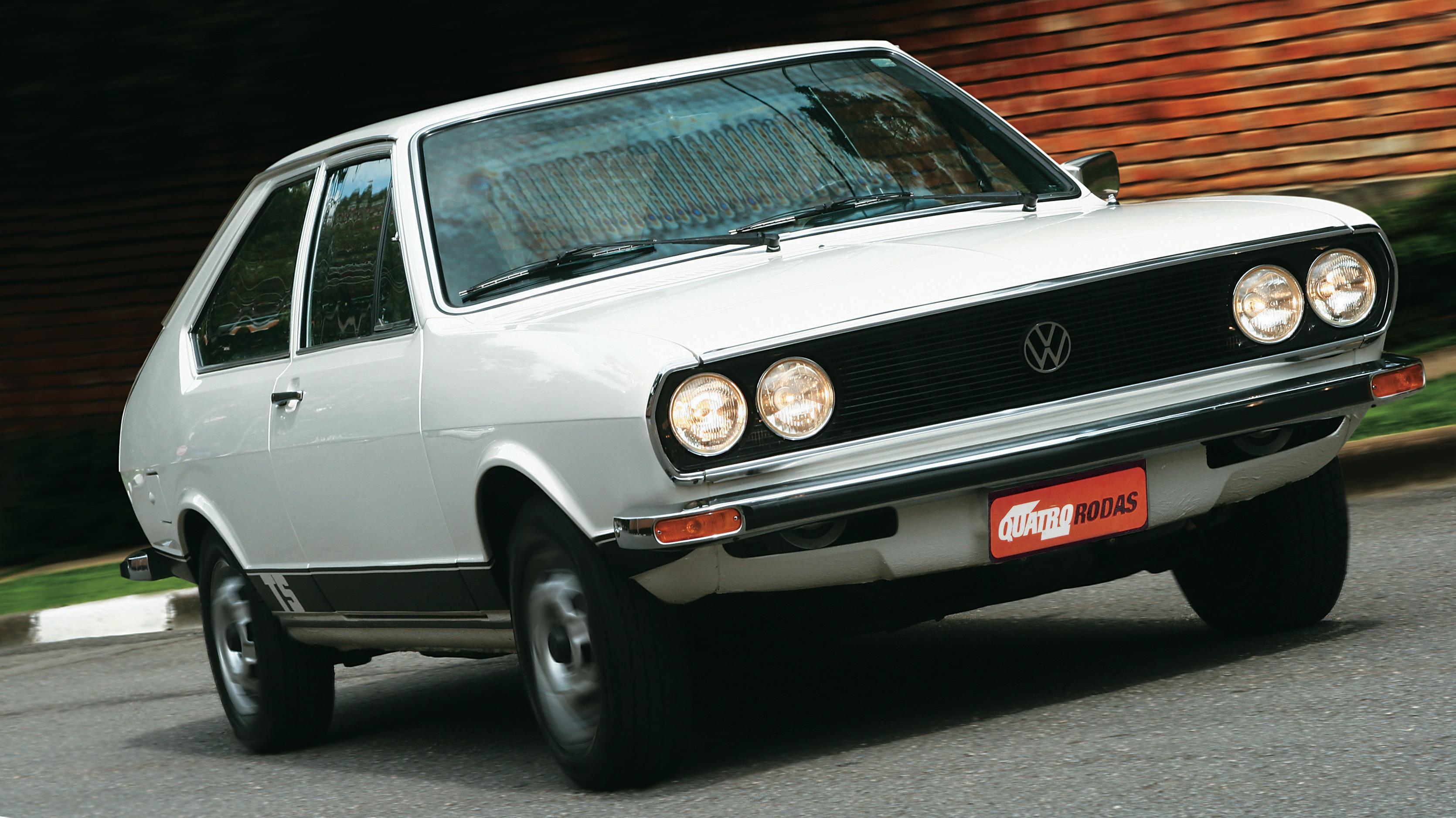 Passat TS, modelo 1978 da Volkswagen, testado pela revista Quatro Rodas.