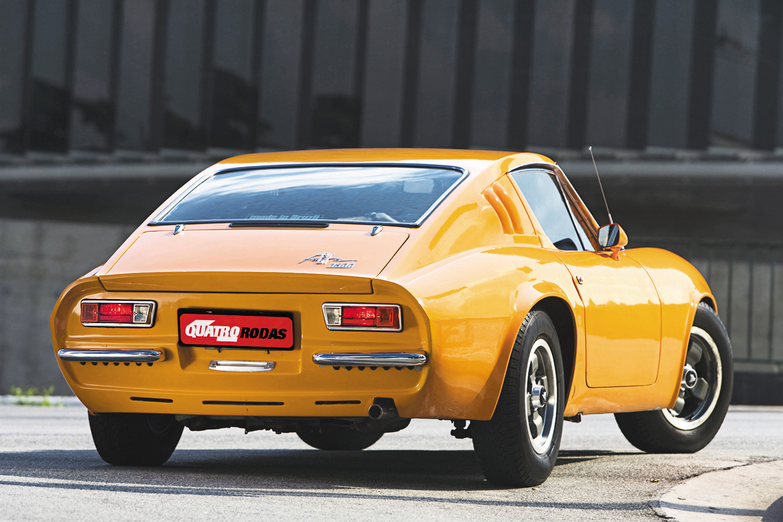 Puma GTE, modelo 1974, do arquiteto Adhemar Dizioli Fernandes.