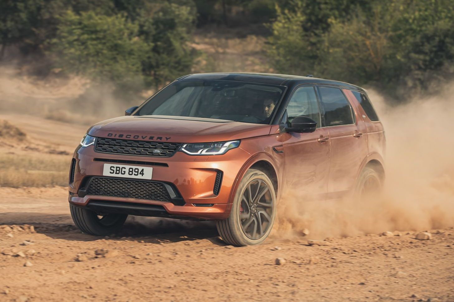 Land Rover discovery sport 2020 na terra