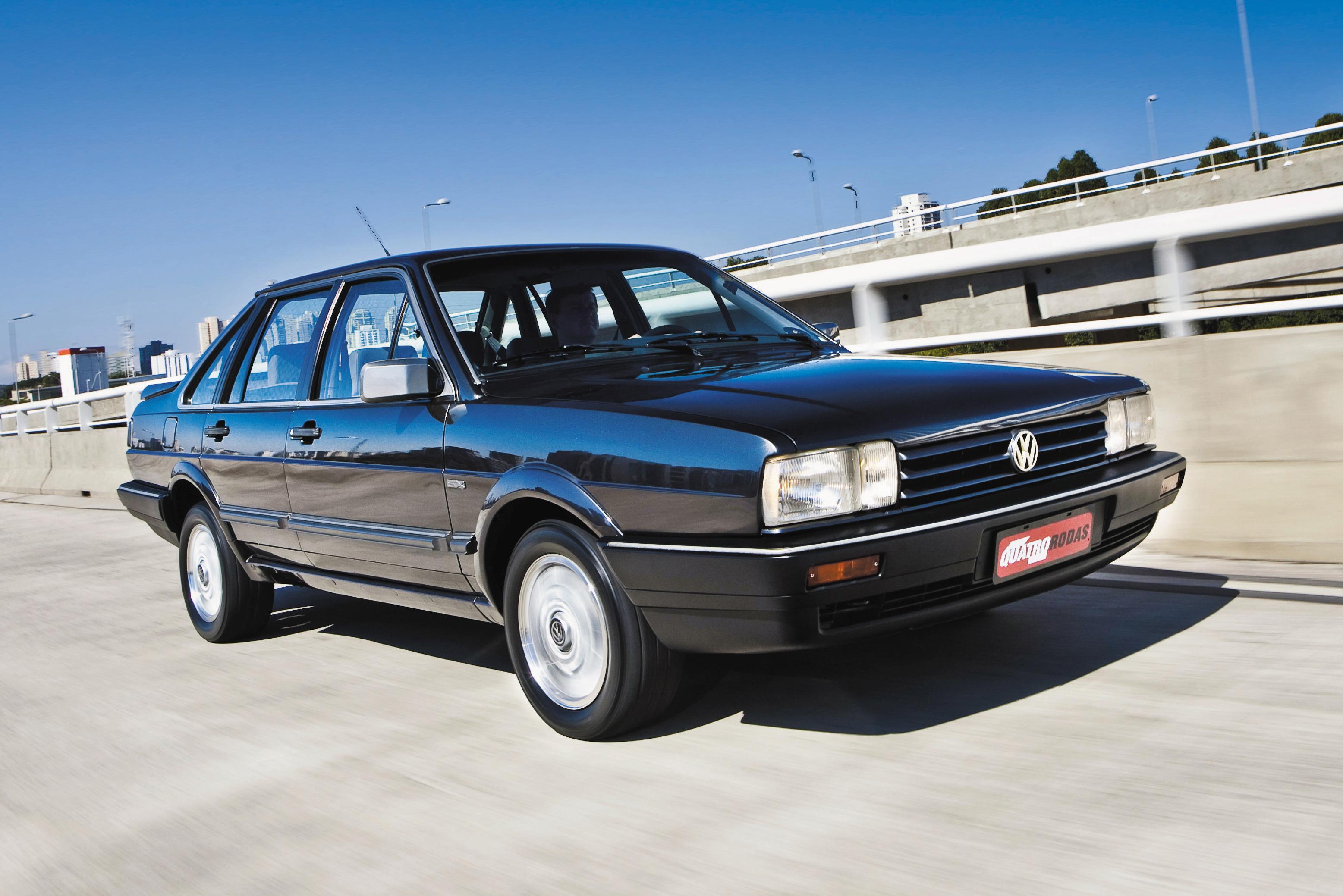 Clássicos: Volkswagen Santana EX é considerado o melhor de todos os tempos