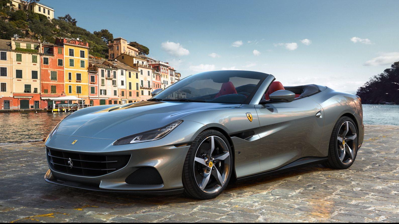 Nova Ferrari Portofino M tem mesmo motor da Roma e câmbio de oito marchas