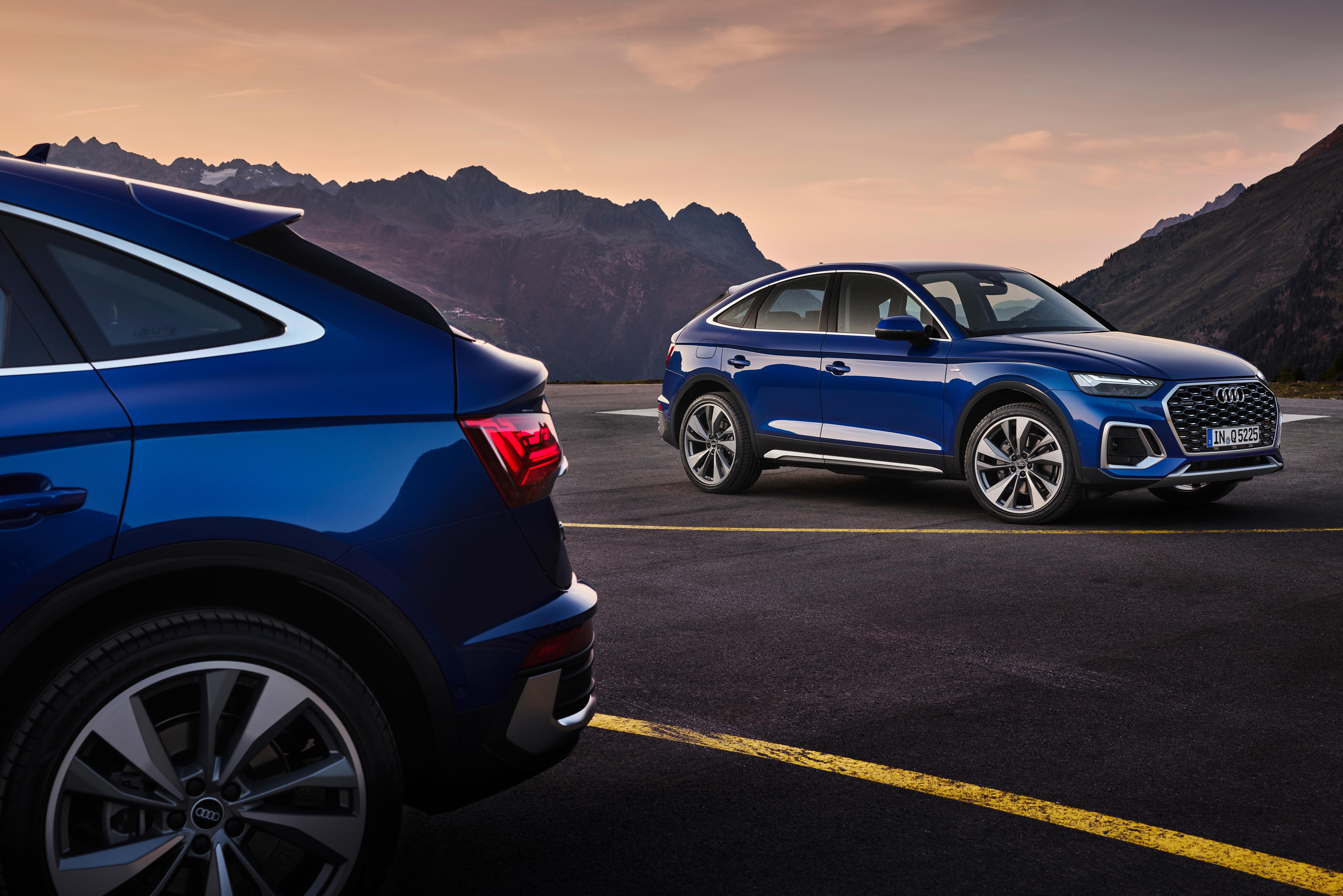 Audi Q5 se rende ao estilo SUV cupê com inédita versão Sporback