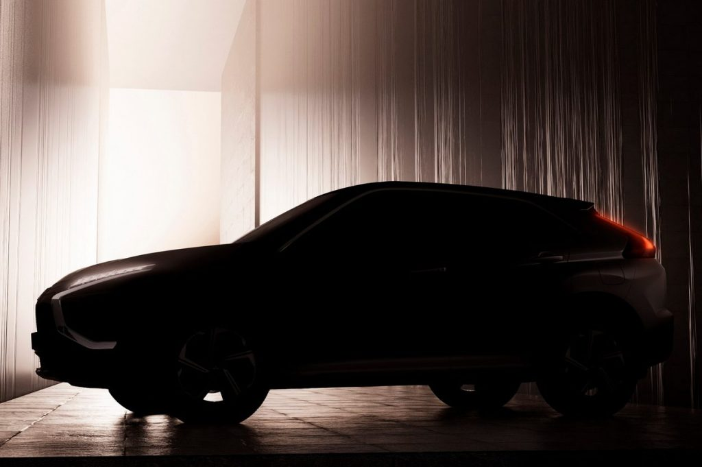 Teaser Mitsubishi Eclipse Cross 2021