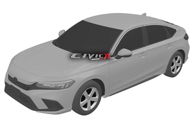 Patentes revelam: nova geração do Honda Civic não será ousada como a atual