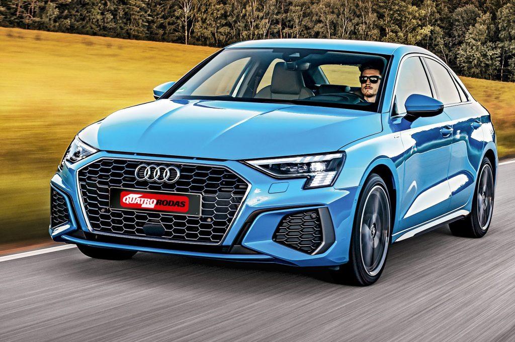 Teste Audi A3 Sedan Foge Do Conservadorismo Para Sobreviver Aos Suvs Quatro Rodas