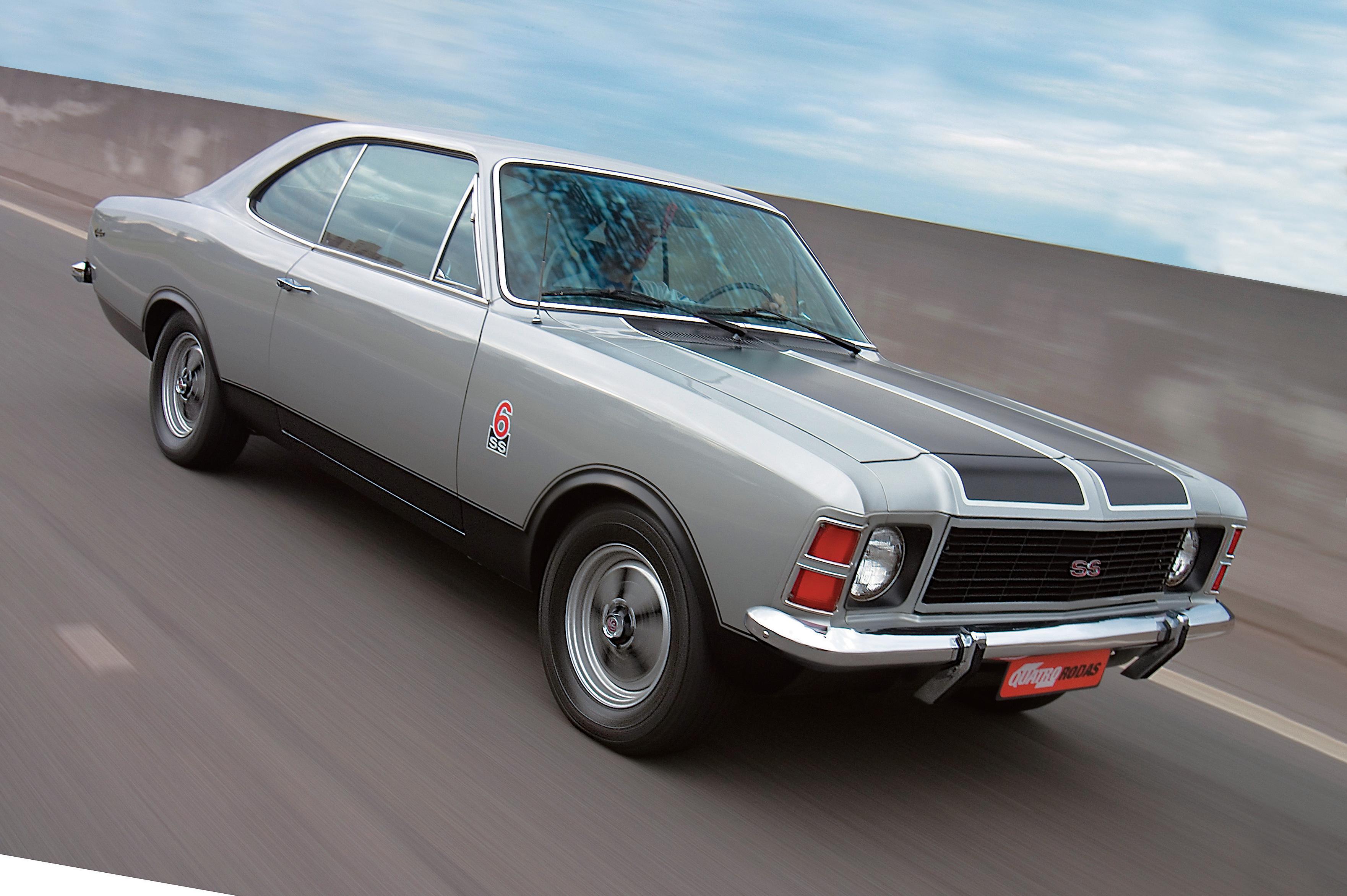 Opala SS, modelo 1976 da Chevrolet, testado pela revista Quatro Rodas.