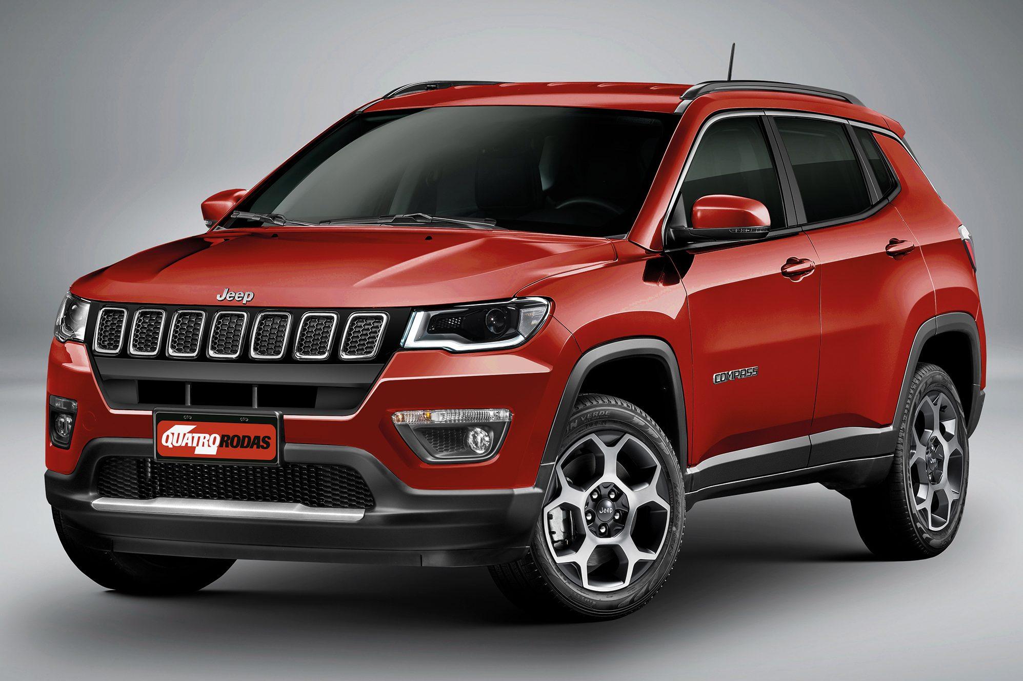 Jeep Compass 2021 terá nova identidade visual e painel inspirado no Argo