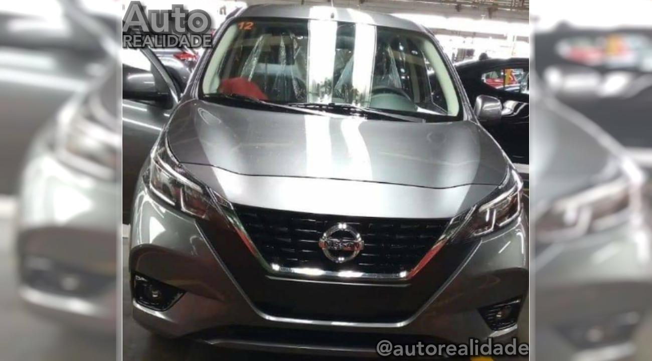 Nissan March terá sobrevida com a frente do novo Versa