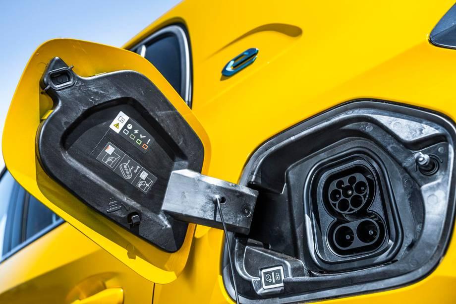 Autonomia da bateria é de 340 km em ciclo WLTP