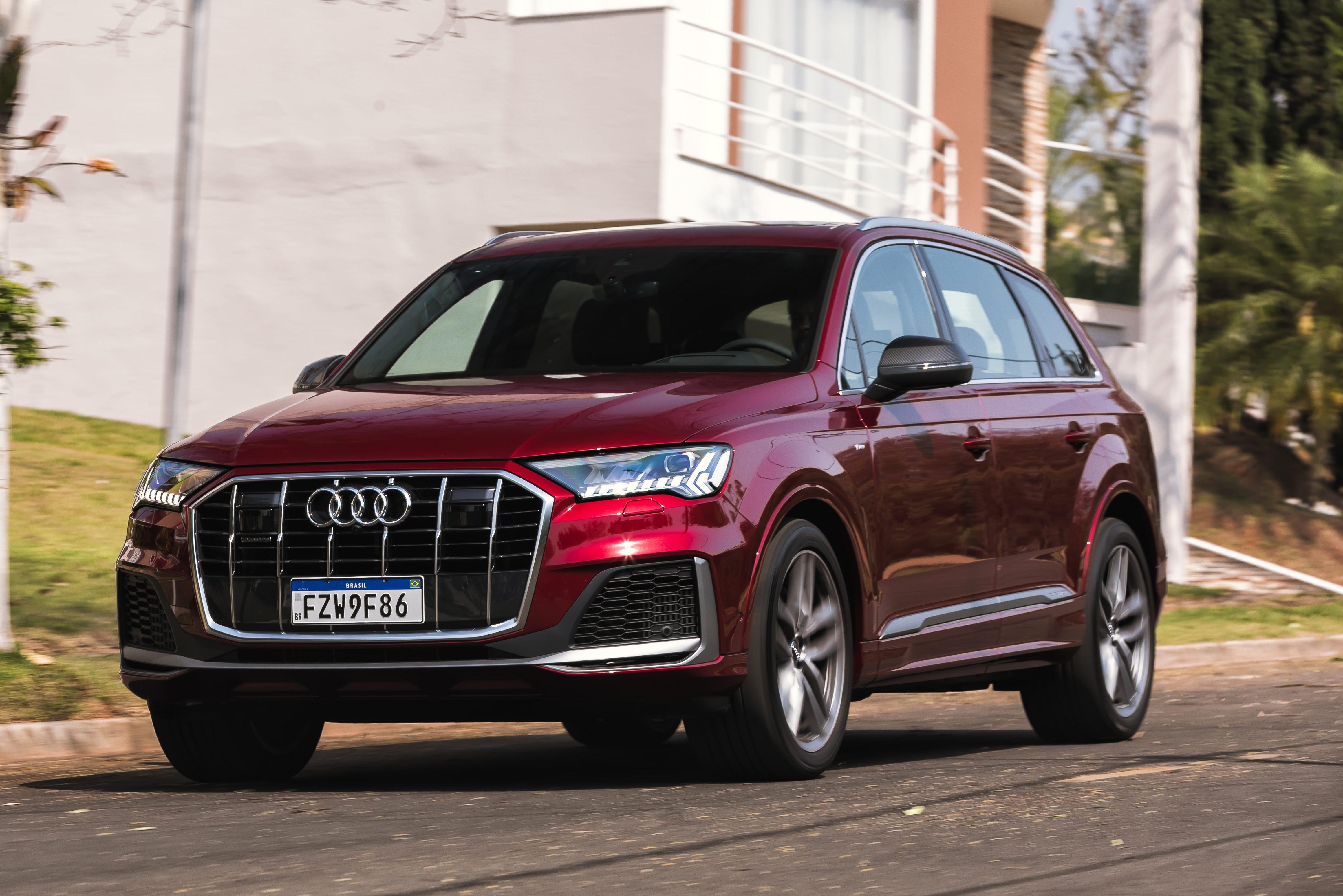 Teste: novo Audi Q7 muda para melhor em linha 2021