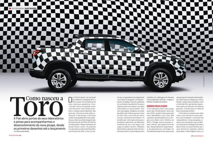 Reportagem – Dessenvolvimento Fiat Toro