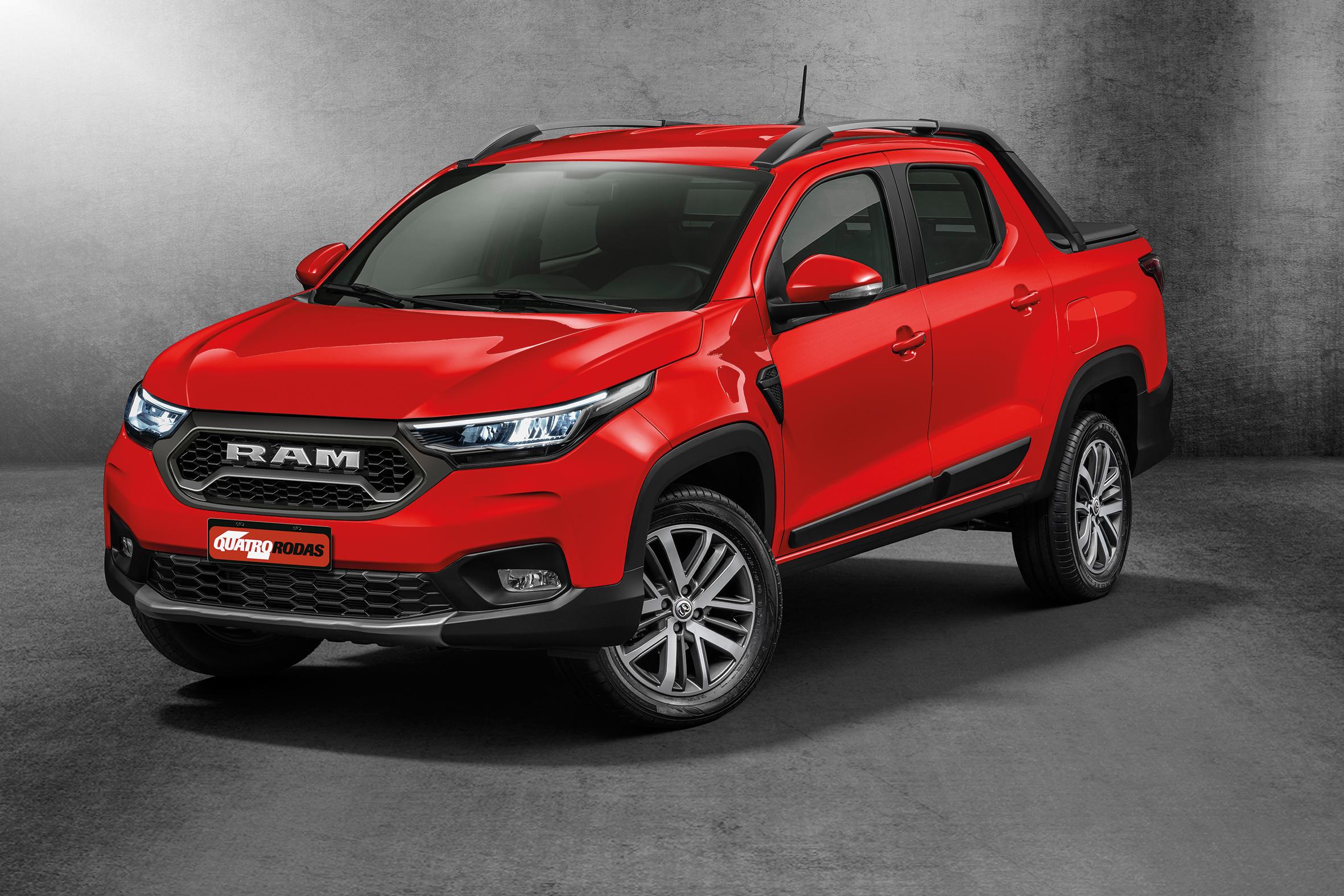 Nova Ram 700 é nossa Fiat Strada para gringos e terá até grade exclusiva
