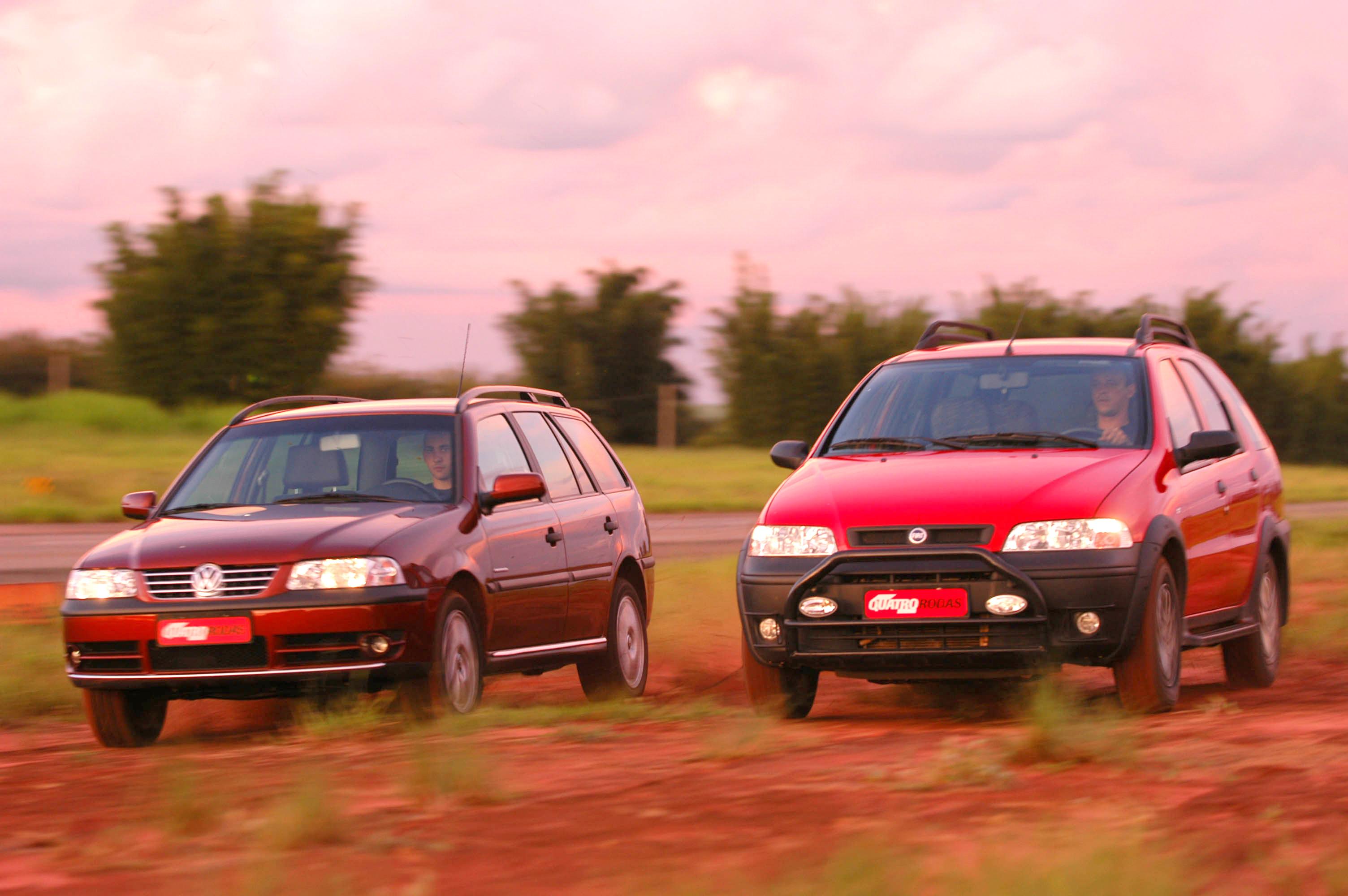 Parati Crossover e Palio Adventure era o que existia antes dos SUVs