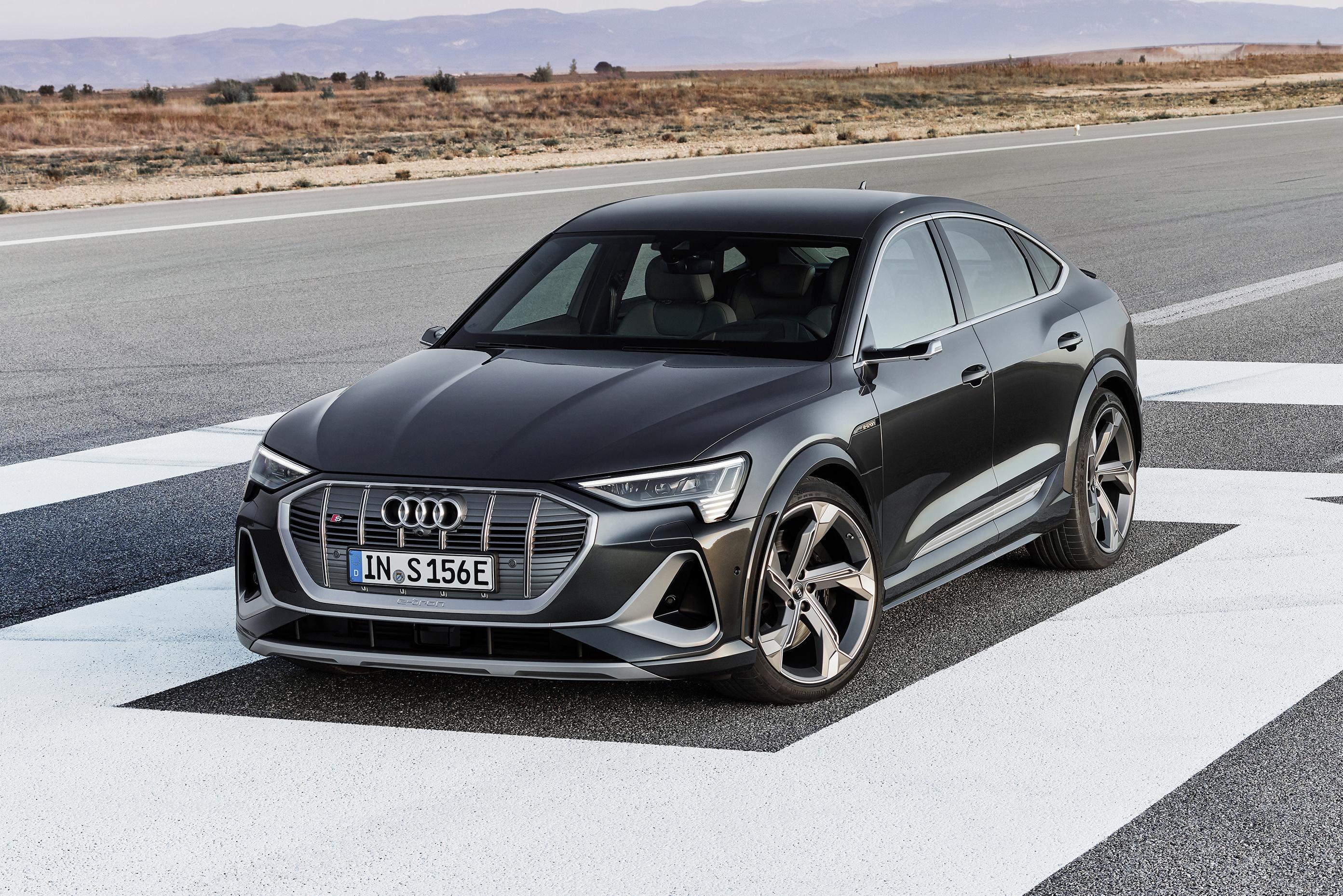 Audi terá e-tron Sportback S com três motores no Brasil em 2021