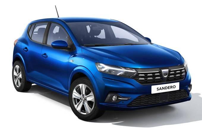 Novo Dacia Sandero