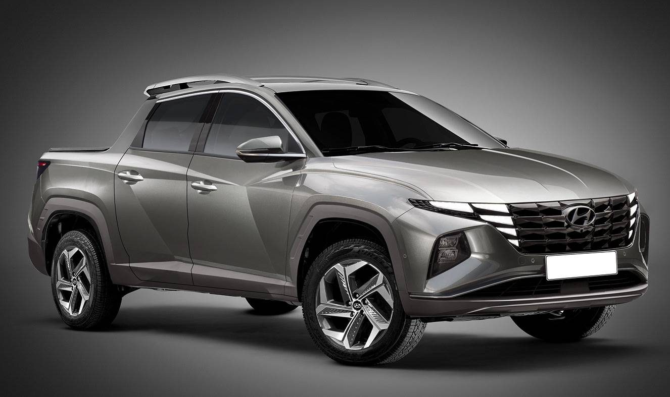 Futura rival da Fiat Toro, Hyundai Santa Cruz pode ser baseada no Tucson