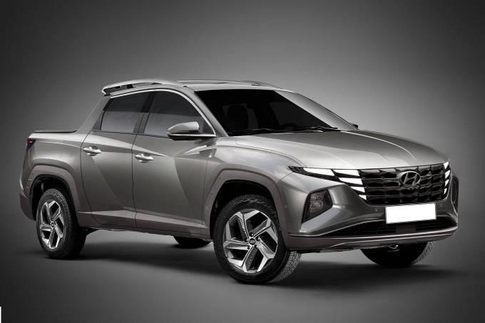 Projeção Hyundai Santa Cruz