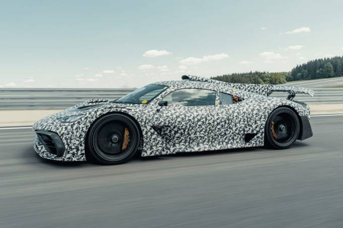 Mercedes-AMG Project ONE: Erprobung geht in eine spannende PhaseMercedes-AMG Project ONE: testing reaches an exciting phase