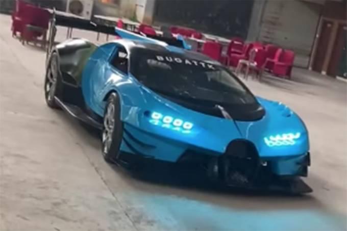 Réplica do Bugatti Vision Gran Turismo