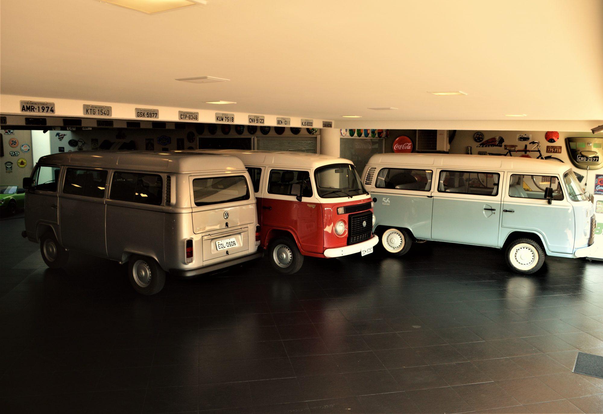A Kombi Last Edition compõe a coleção de VW