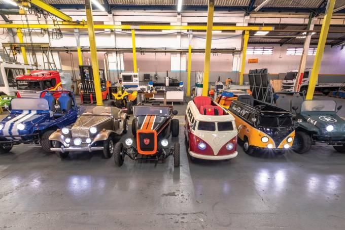 Fábrica de Minicarros – modelos