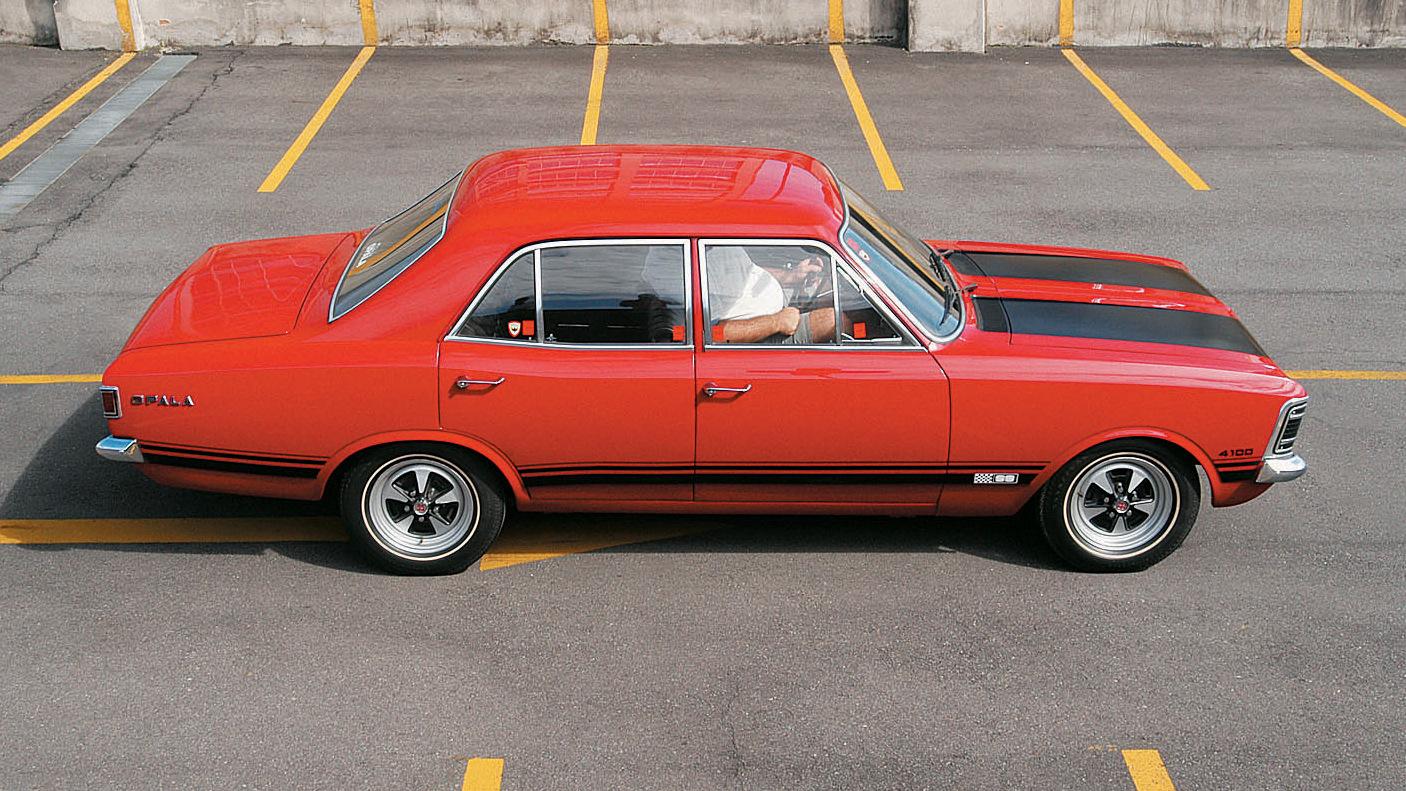 Teste comparativo entre modelos Opala, da Chevrolet_ Opala SS 1971, Opala Comodoro