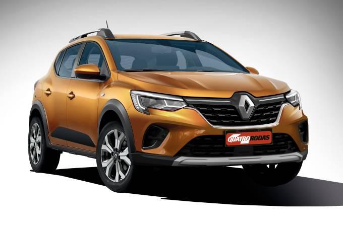 Projeção Renault Sandero Stepway XJF 2022