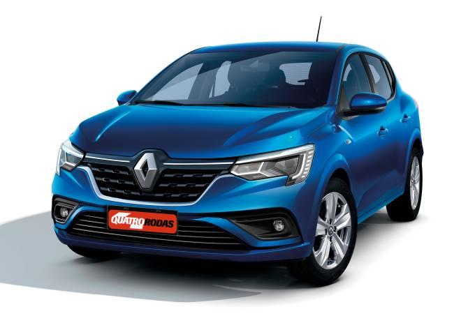 Projeção Renault Sandero XJF 2022