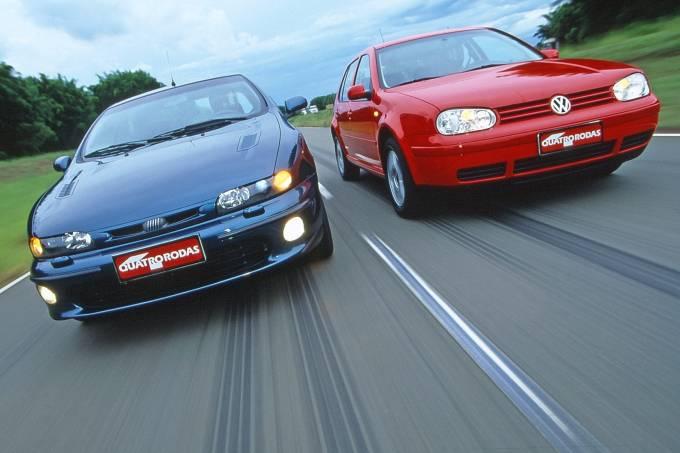 Comparativo: quando o Fiat Marea Turbo enfrentou o Golf GTI (4)