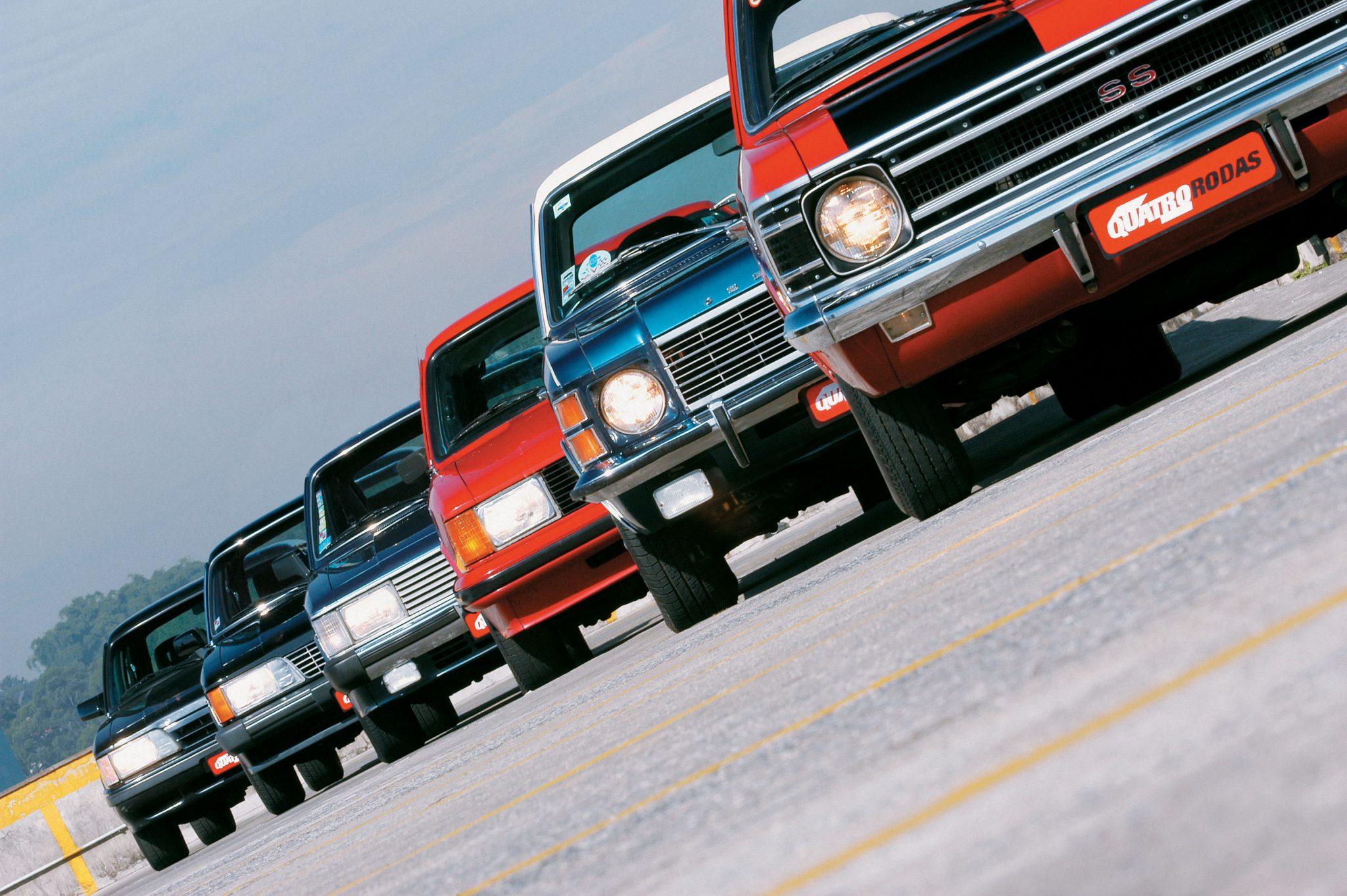 Teste comparativo entre modelos Opala, da Chevrolet_ Opala SS 1971, Opala Comodo