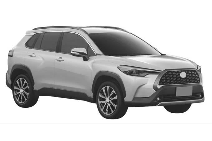 Toyota Corolla Cross patente brasil 2