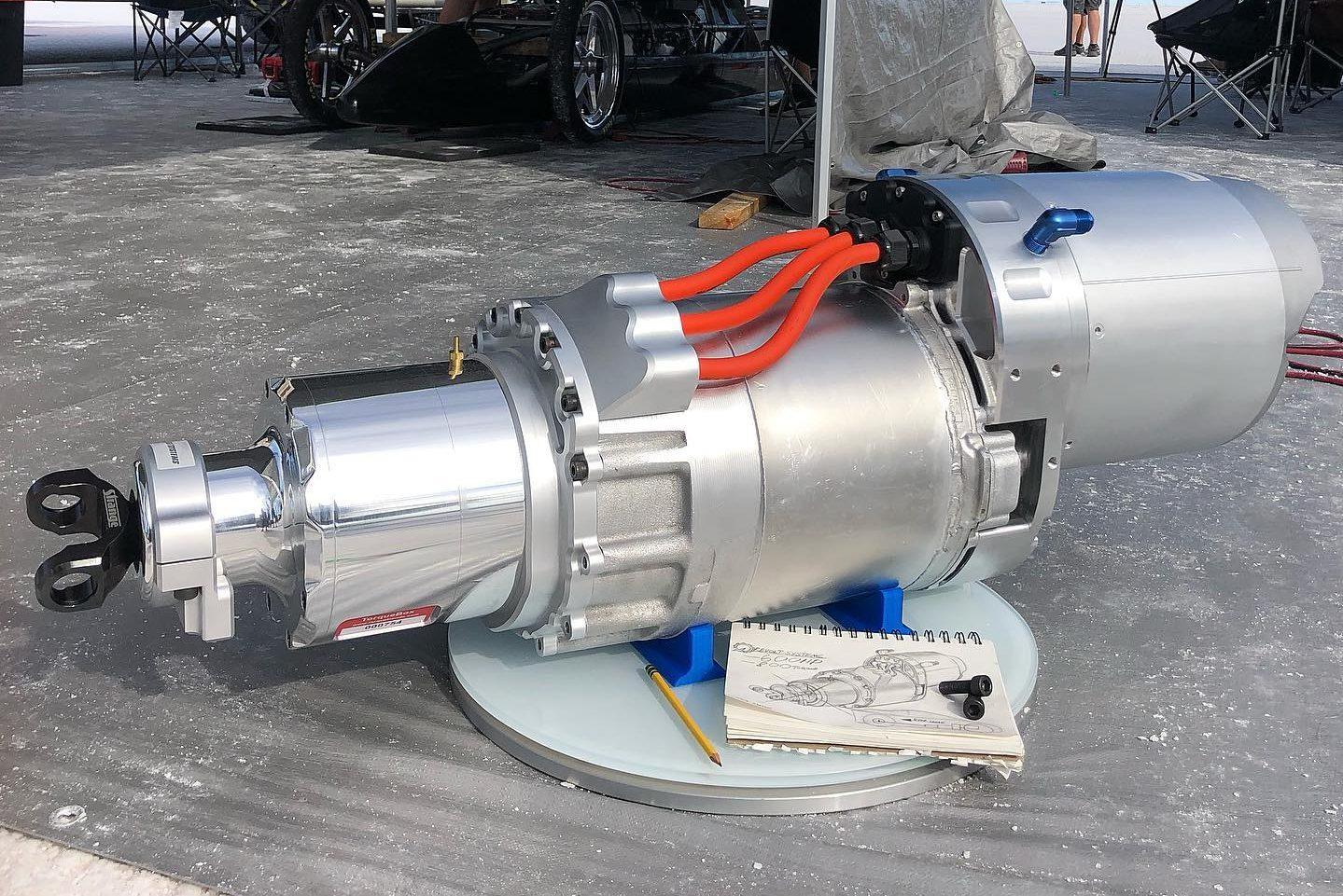 Motor elétrico da Tesla