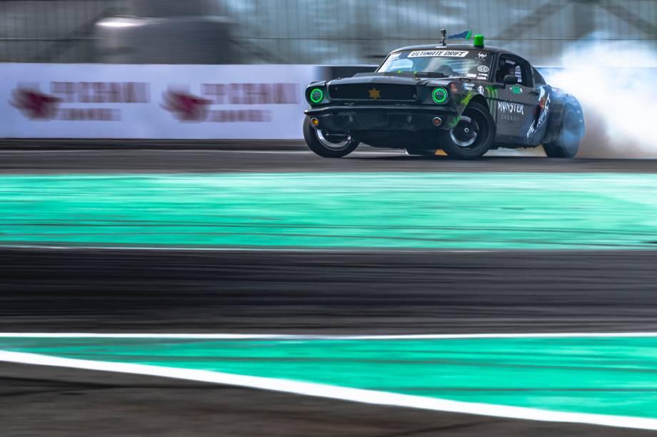 Ultimate Drift 2020 que aconteceu no Sambódromo de SP e coroou o campeão Brasileiro da categoria