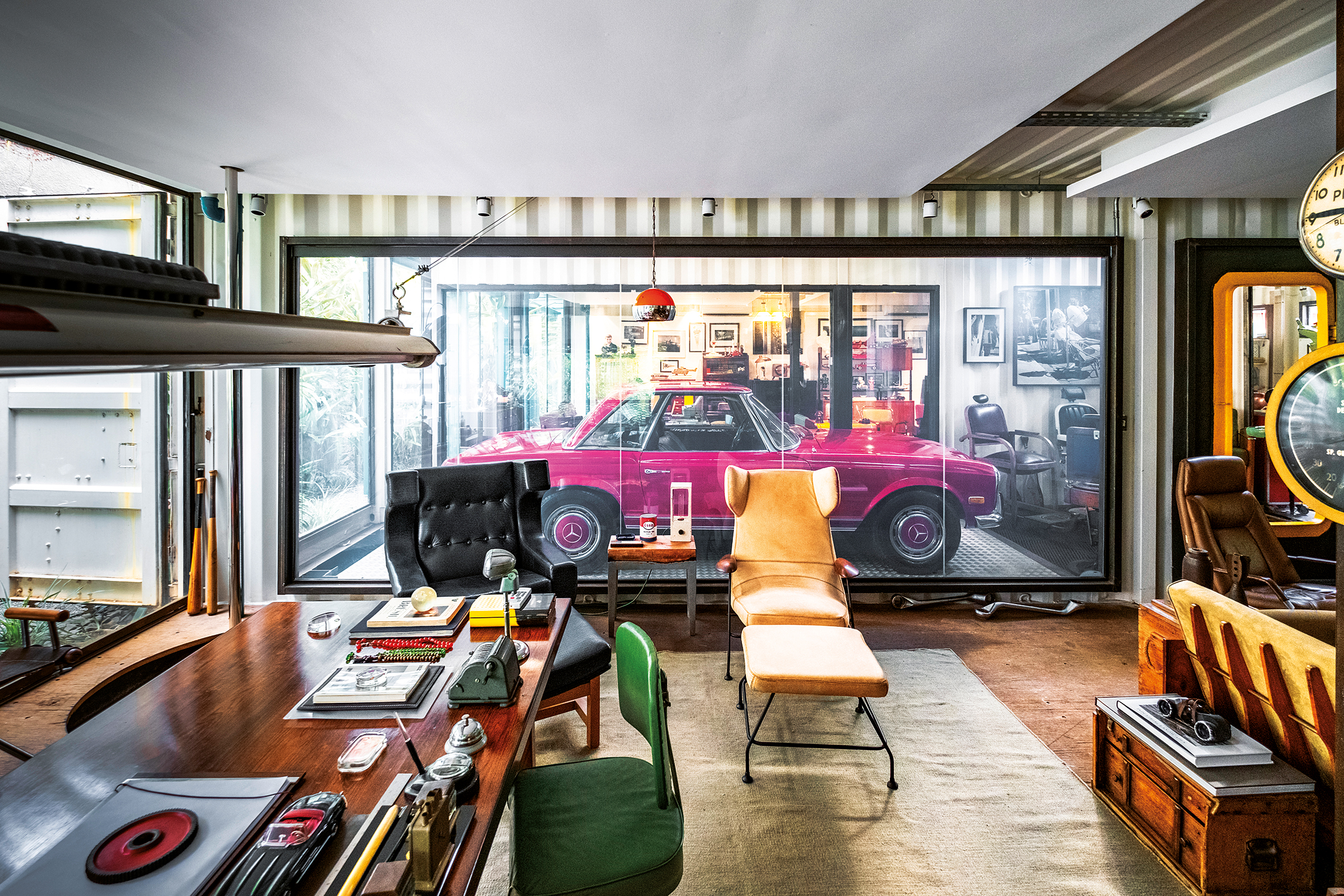Garagem arquitetônica
