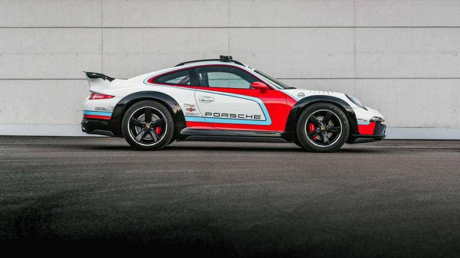 O Porsche 911 Vision Safari