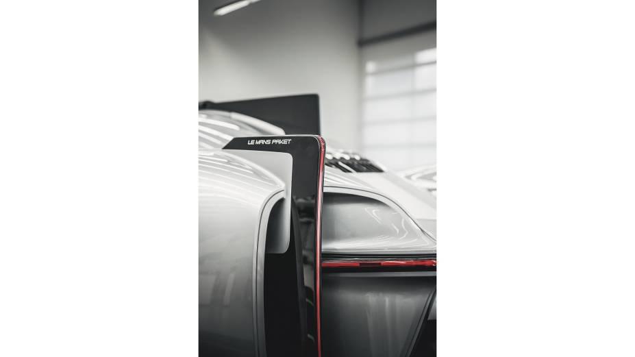 Modelo de argila em tamanho real do Porsche 919