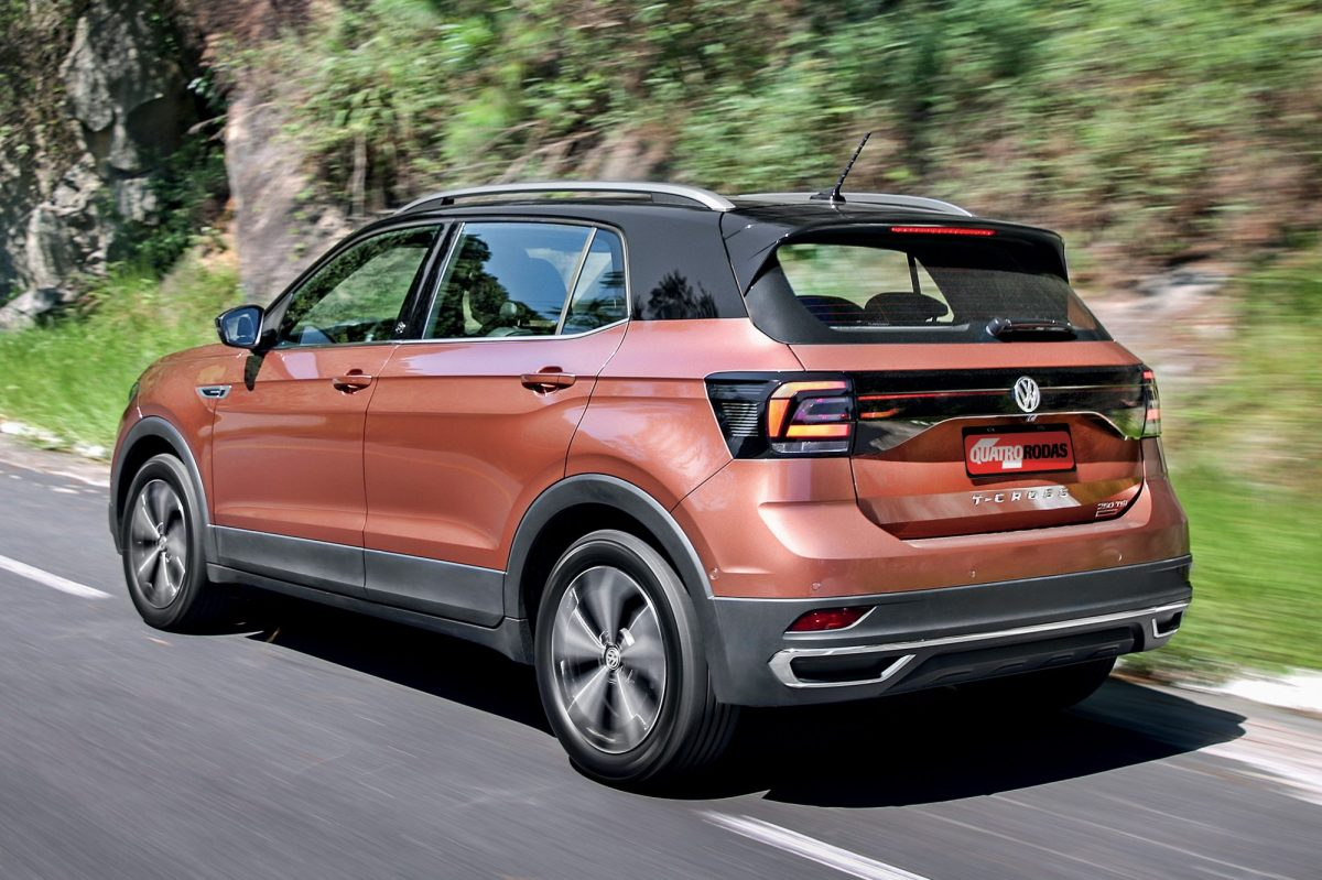 Volkswagen T-Cross tem aumento de preços de 2