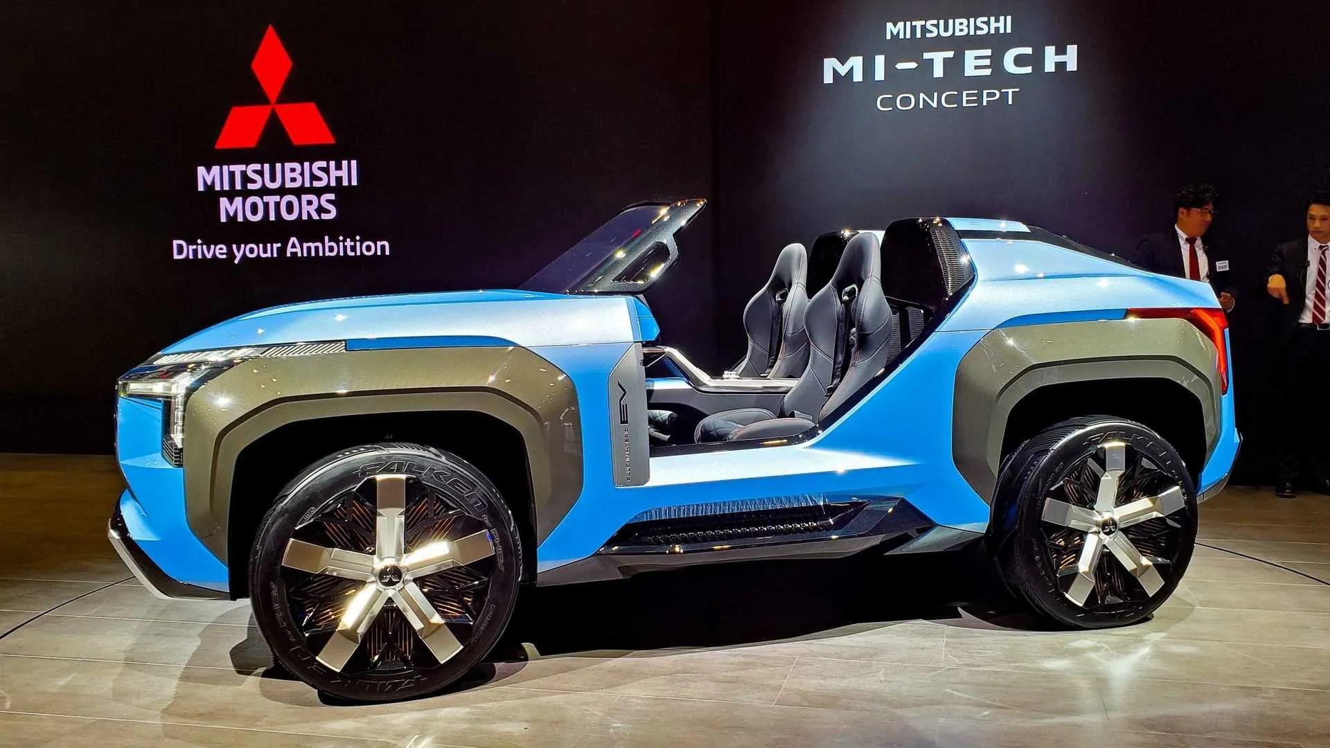 O simpático Mi-Tech abriu alas para a eletrificação dos Mitsubishi